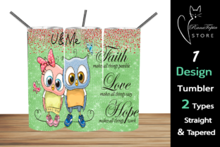 OWL 20oz Skinny Tumbler Sublimation Desi Graphic Graphic Templates By Ranotopia Store 1