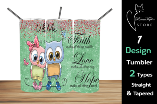 OWL 20oz Skinny Tumbler Sublimation Desi Graphic Graphic Templates By Ranotopia Store 2