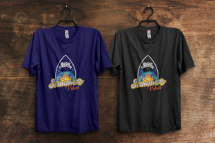 Print on Demand: Sea World Summer Vibes T-Shirt Design Graphic Print Templates By ivect