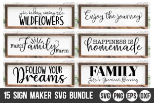 Print on Demand: Sign Maker Bundle Graphic Crafts By Designdealy
