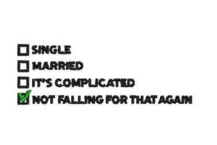 Single Married Wedding Quotes Embroidery Design By Embroidery Designs