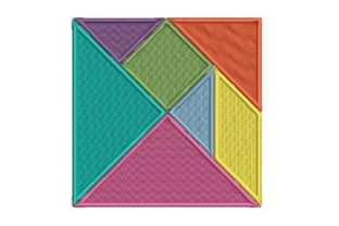Tangram Intricate Cuts Embroidery Design By Embroidery Designs