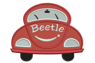 Print on Demand: Toy Beetle Toys & Games Embroidery Design By litcyz
