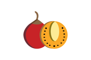 Print on Demand: Fruit Icon Graphic Icons By cagakluas