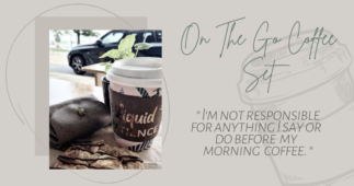 Made-to-Match Coffee Cup Sleeve and Coin Purse