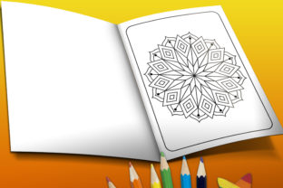 Print on Demand: Mandala Coloring Pages Svg for Kids Graphic Coloring Pages & Books Kids By TeamlancerBD 2