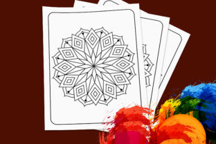 Print on Demand: Mandala Coloring Pages Svg for Kids Graphic Coloring Pages & Books Kids By TeamlancerBD 3