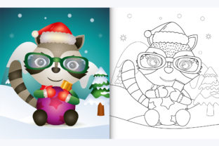 Raccoon Hug - Coloring Page Graphic Coloring Pages & Books By wijayariko