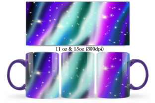 Print on Demand: Space Magic Design for Mug Sublimation Graphic Crafts By LerVik