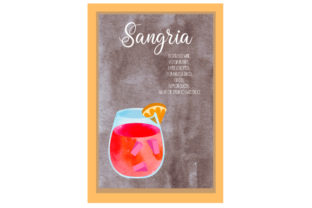 Sangria Cocktail Recipe Food & Drinks Craft Cut File By Creative Fabrica Crafts