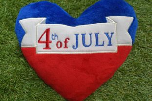 4th of July Independence Day Embroidery Design By nolimitsdesignPL