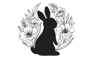 Easter Bunny Easter Embroidery Design By SonyaEmbroideryStore