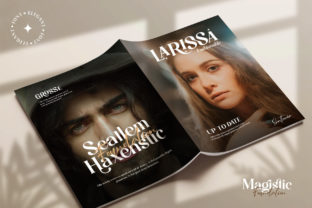 Print on Demand: Magistic Foundation Serif Font By Graphicxell 3