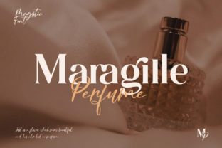 Print on Demand: Magistic Foundation Serif Font By Graphicxell 4
