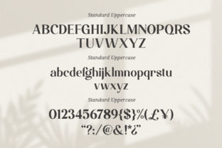 Print on Demand: Magistic Foundation Serif Font By Graphicxell 5