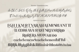 Print on Demand: Magistic Foundation Serif Font By Graphicxell 6