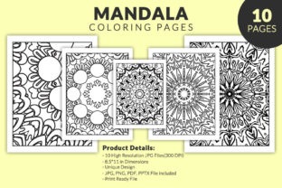 Print on Demand: Mandala Design for Coloring Books - KDP Graphic KDP Interiors By fuad333
