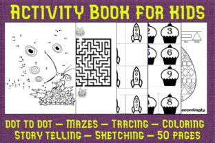 Print on Demand: Activity Book for Kids Graphic KDP Interiors By Mary's Designs