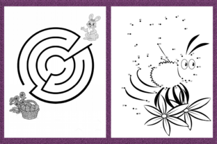Print on Demand: Activity Book for Kids Graphic KDP Interiors By Mary's Designs 2