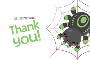 Cute Spiders Clipart - 3