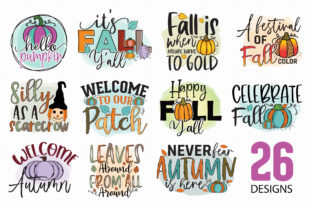 Fall Sublimation Bundle Vol.3 Graphic Crafts By CraftlabSVG 2