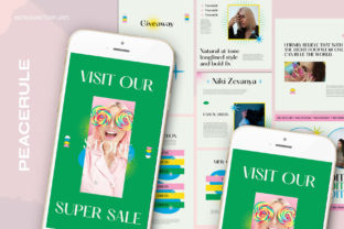 Peacerule Instagram   Canva & PSD Graphic Web Elements By qohhaarqhaz