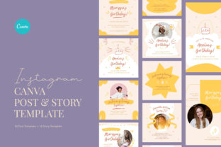 Print on Demand: Playful Birthday Invitation Canva Graphic Graphic Templates By peterdraw