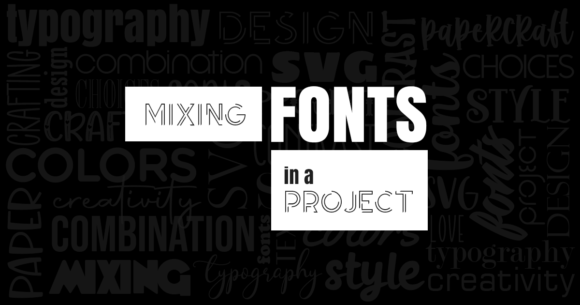 Mixing Fonts in a Project