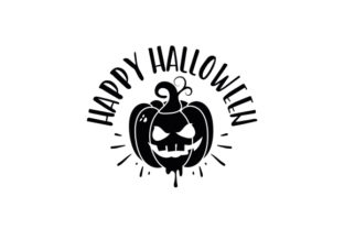 Happy Halloween Thanksgiving Craft Cut File By Creative Fabrica Crafts