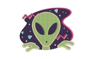 Alien Robots & Space Embroidery Design By Embroidery Designs