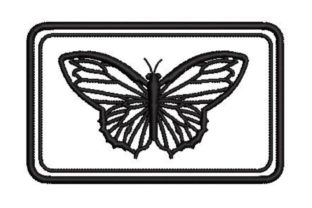 Bees and Butterflies Bugs & Insects Embroidery Design By Embroidery Designs