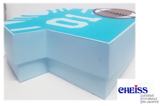 Father's Day Horizontal Gift Box SVG Graphic 3D SVG By Cheiss Designs 2
