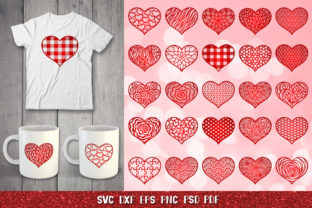 Heart SVG,Valentine Heart,Heart Papercut Graphic Crafts By goodfox86