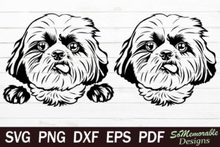 Print on Demand: Shih Tzu Graphic Web Templates By SoMemorableDesigns