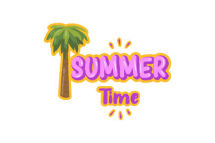 Stickers Summer Time Graphic Illustrations By myplumpystudio