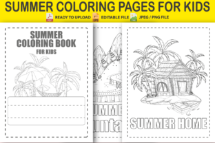 Summer Coloring Pages for Kids Graphic Coloring Pages & Books Kids By Pro Designer
