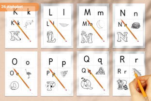 Print on Demand: Alphabet Coloring Book Cute Kids KDP Graphic Coloring Pages & Books Kids By DigitalMGoods