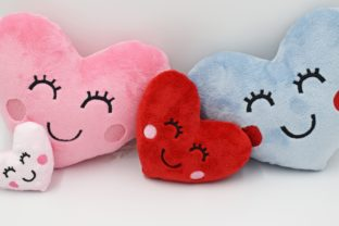 Heart Stuffie ITH Valentine's Day Embroidery Design By nolimitsdesignPL