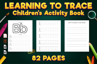Print on Demand: Learning to Trace: Pre-Writing Workbook Graphic KDP Interiors By Kristy Coloring 2