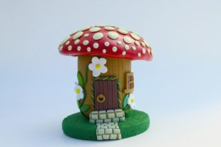 How to Sculpt a Polymer Clay Fairy House Classes By claydisarray