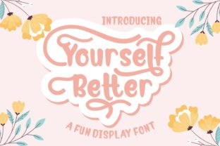 Print on Demand: Yourself Better Display Font By Rifki (7ntypes)