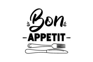 Bon Appetit Dining Room Craft Cut File By Creative Fabrica Crafts