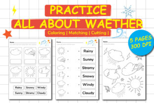 All About Weather Graphic Teaching Materials By Kids Zone