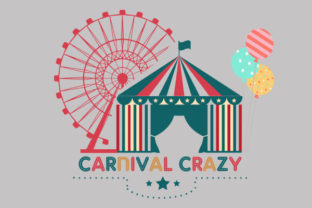 CARNIVAL CRAZY VECTOR LOGO Graphic Logos By muslimahh07