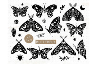 Celestial Butterfly Bundle Graphic Illustrations By MySpaceGarden