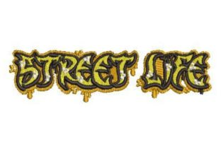 Street Life Graffiti Cities & Villages Embroidery Design By Embroidery Designs
