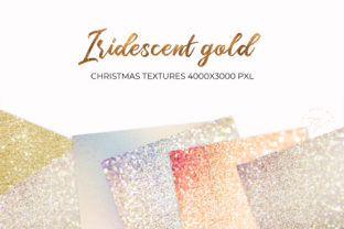 Print on Demand: Iridescent Background, Iridescent Graphic Backgrounds By The Rose Mind 2