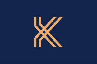 Print on Demand: K Letter Logo Template - Vector Graphic Logos By colorify_design