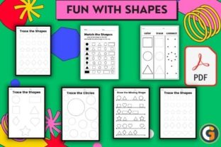 Fun with Shapes Graphic Teaching Materials By CG Education