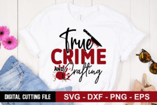 Print on Demand: True Crime & Crafting Graphic Crafts By Designdealy